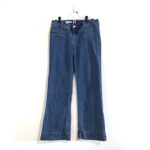 Anthropologie Pilcro High-Waist Wide Leg Jeans